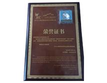 2010上海世博会荣誉证书
